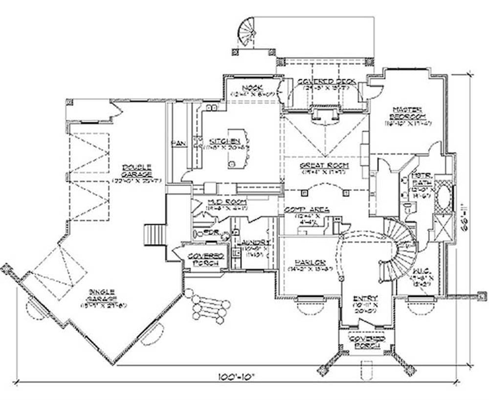 Main Floor Plan TS4914