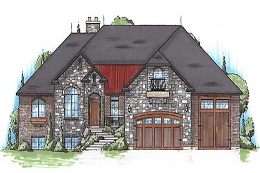 Main image for house plan # 20643