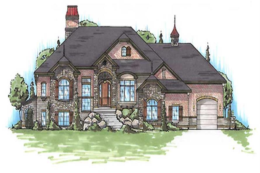 Main image for house plan # 20634