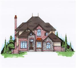 House Plan #135-1096