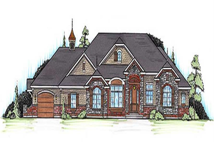 Main image for house plan # 20633