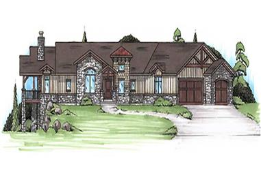 Main image for house plan # 20632