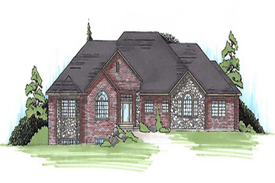 Main image for house plan # 20635
