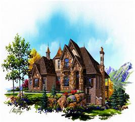 House Plan #135-1109