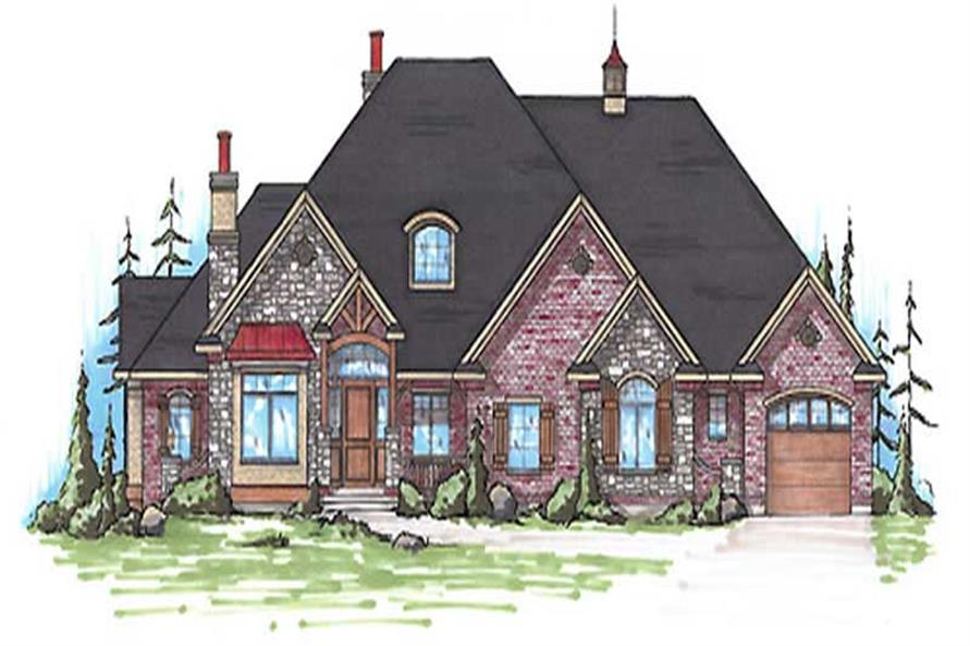 Main image for house plan # 20638