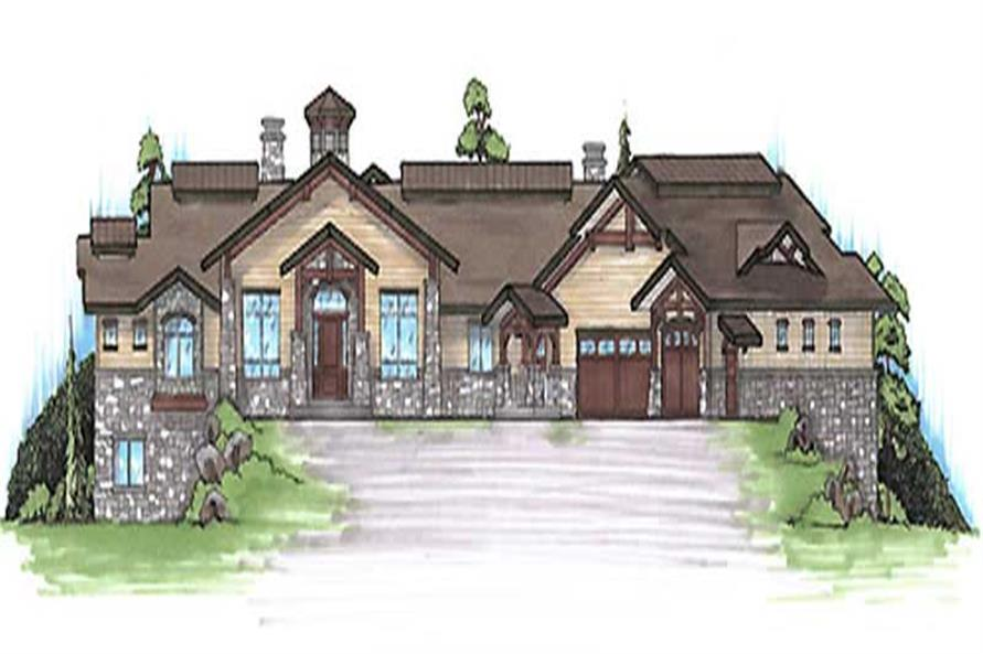 Main image for house plan # 20641