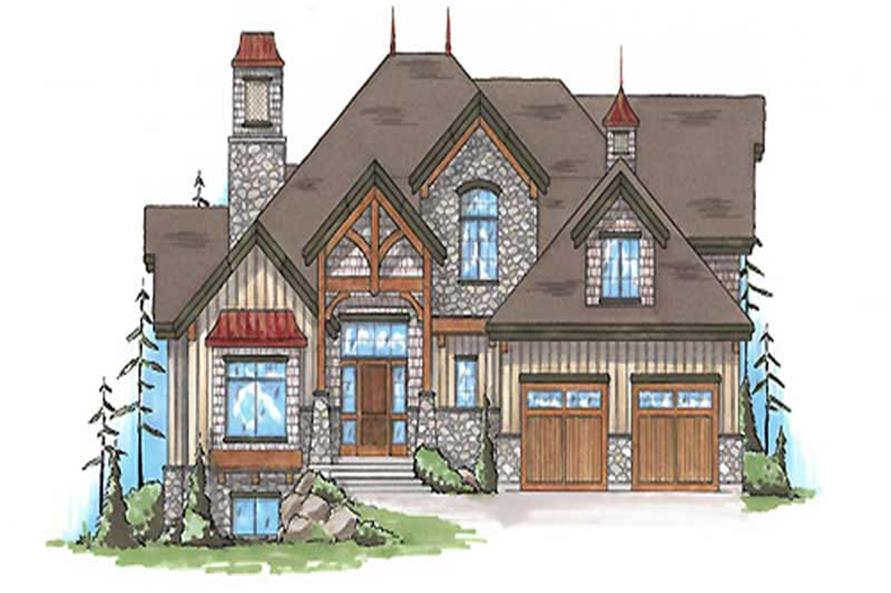 Main image for house plan # 20644
