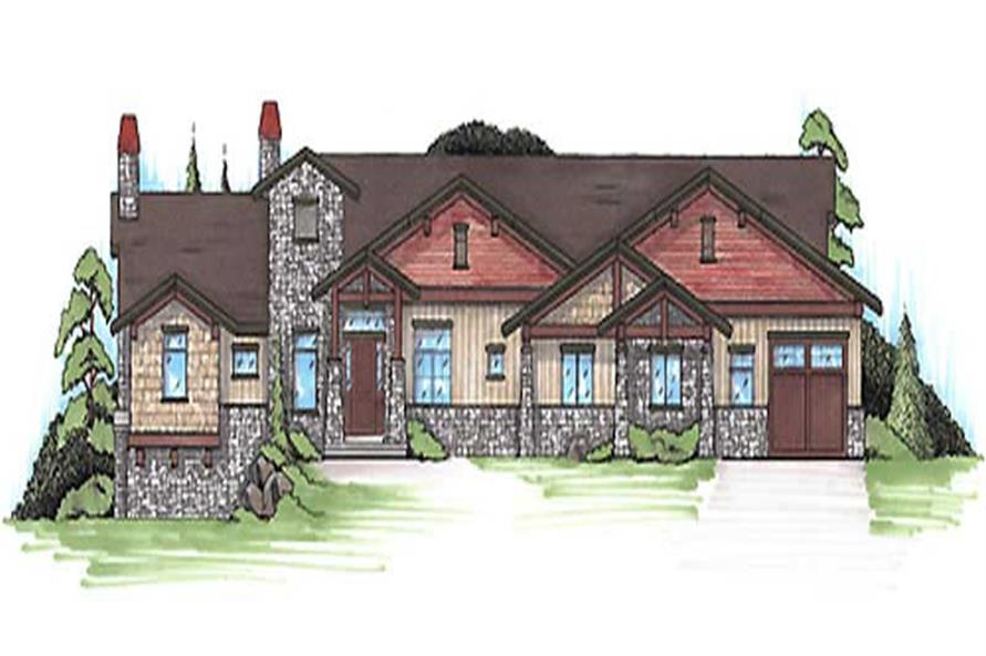 Main image for house plan # 20639