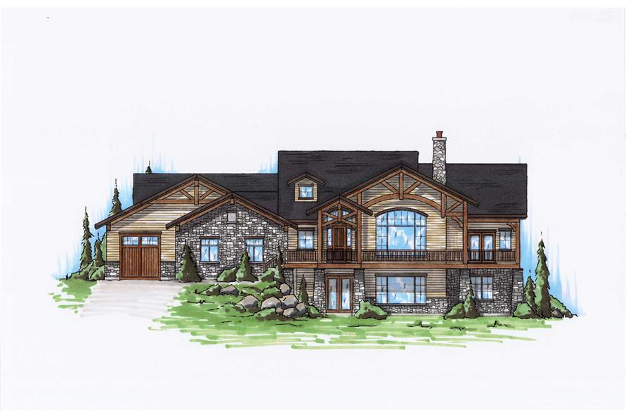 Main image for house plan # 20631