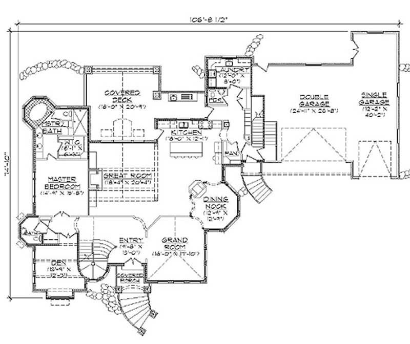 Main Floor Plan TS5561