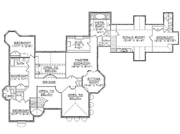 Second Floor Plan TS5561
