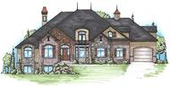 Main image for luxury house plans # 20651