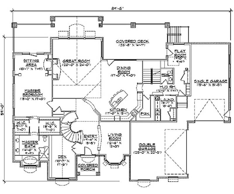 Main Floor Plan TS5078