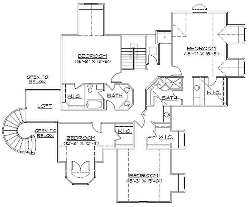 Second Floor Plan TS5078