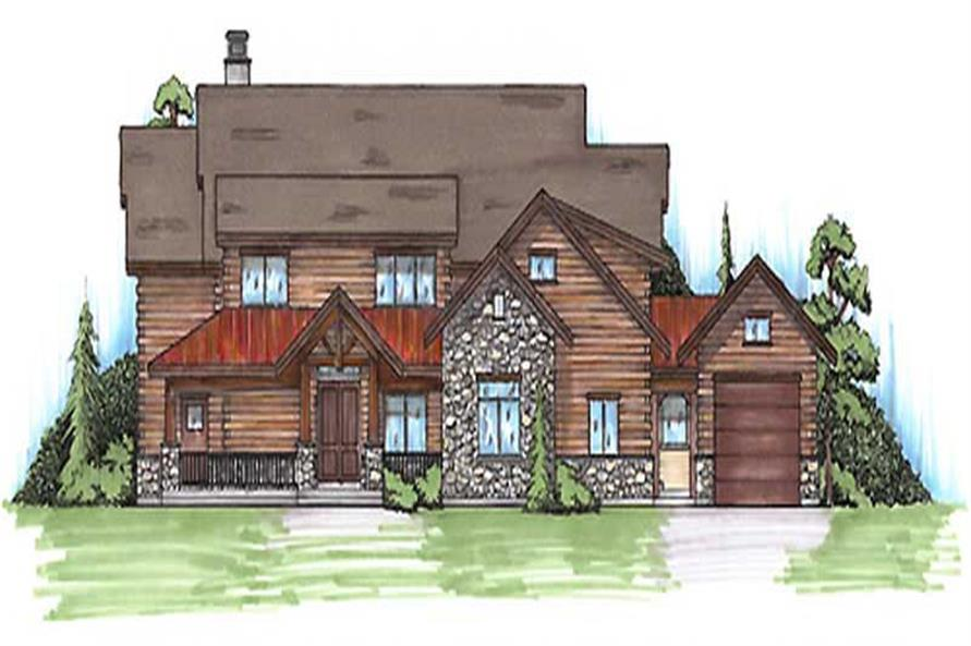Main image for house plan # 20645