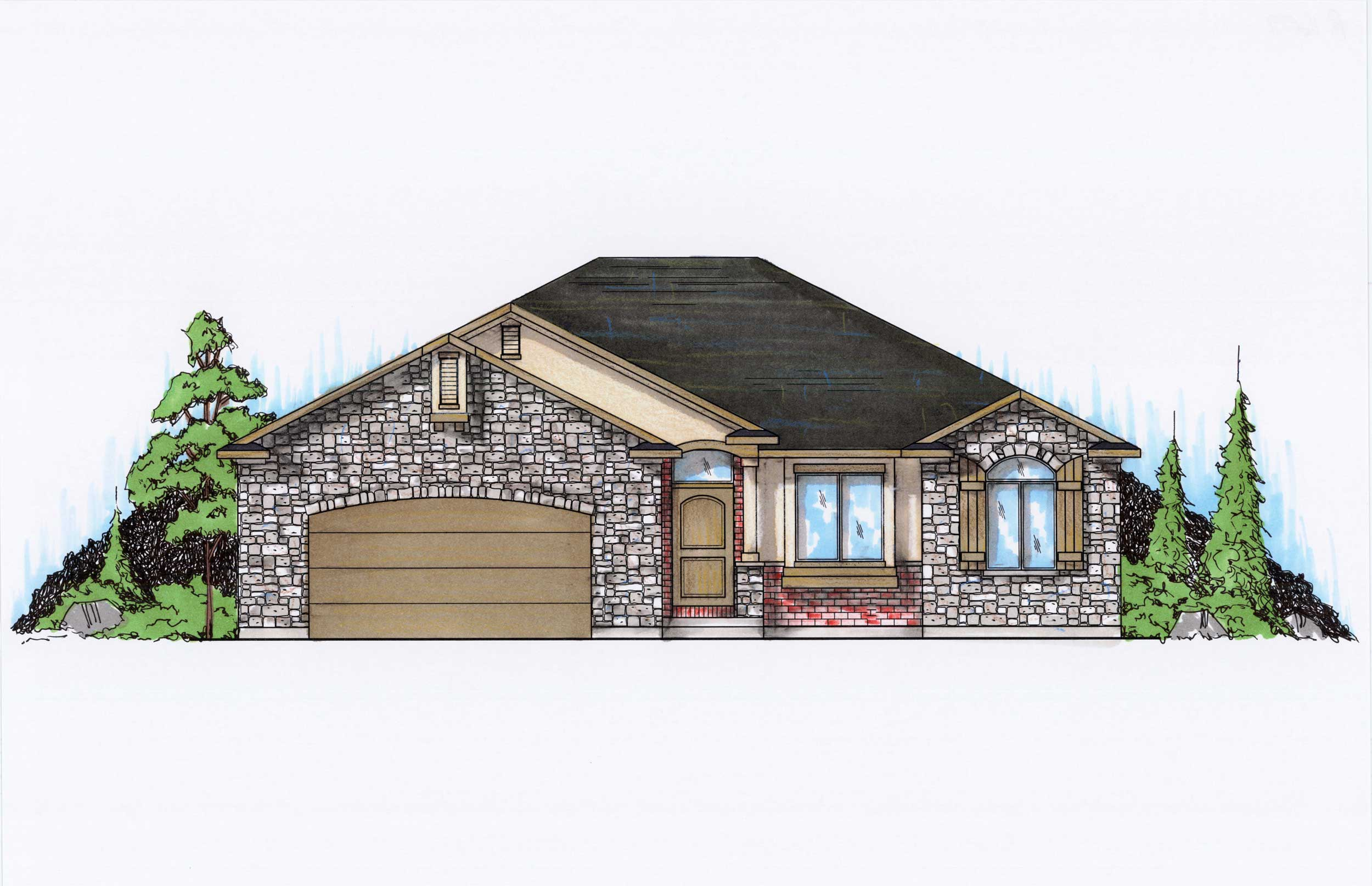 Farmhouse House Plans Home Design Vh R1699