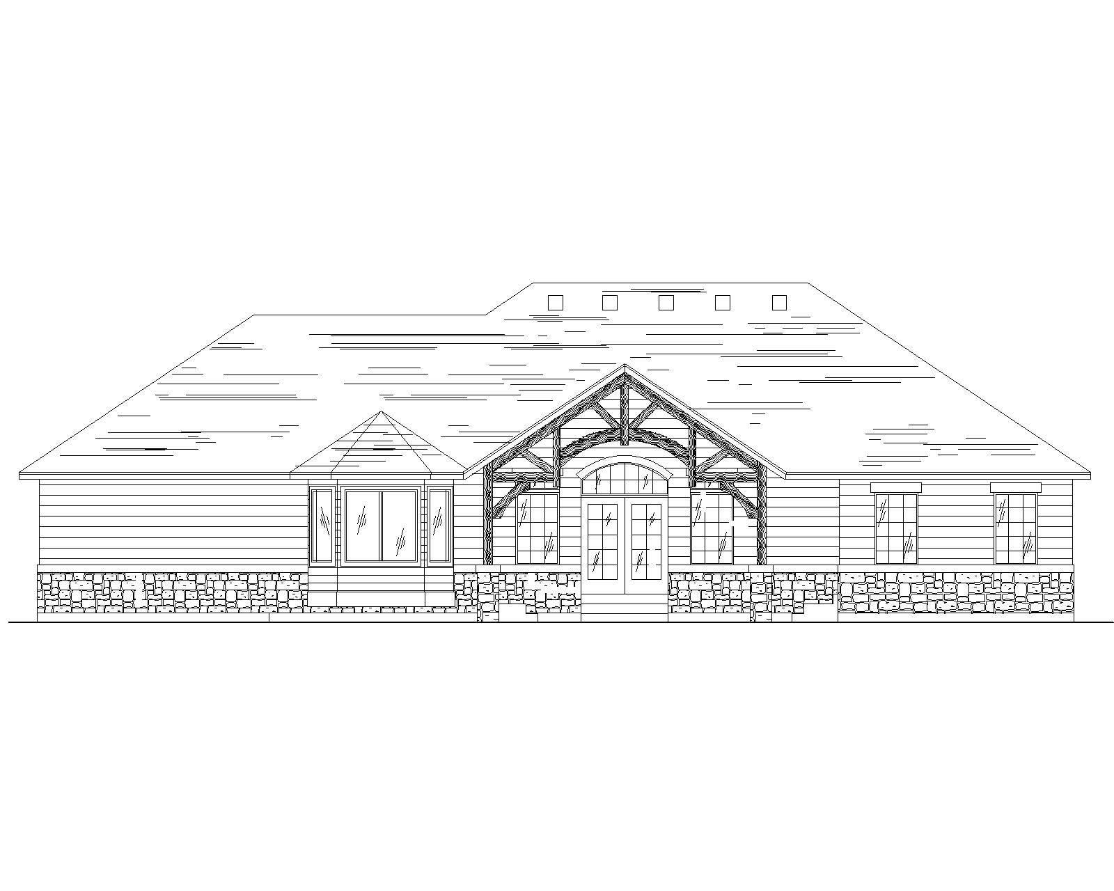 Craftsman House Plans Home Design Vh R1681
