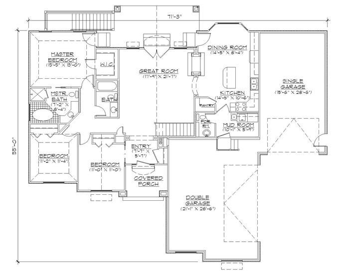 master bedroom floor plan double entry bedroom home plans floor plan two master suites downstairs trend home