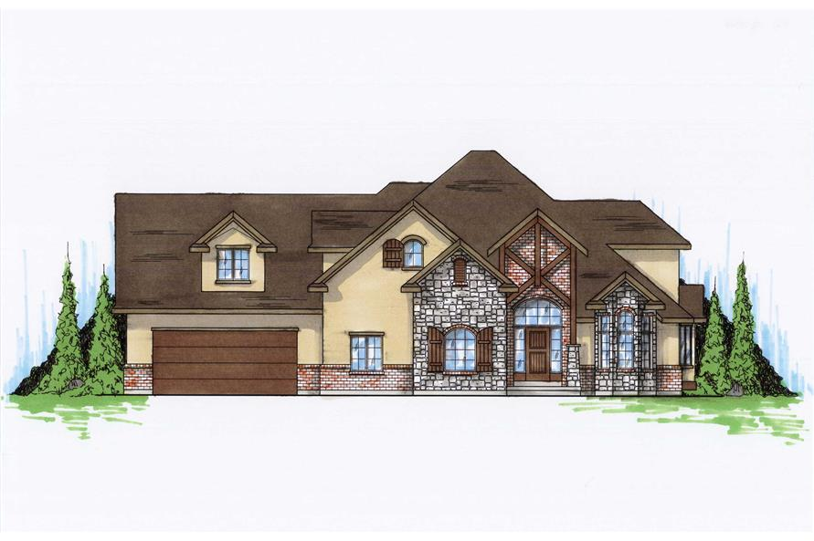 Craftsman House Plans Home Design Vh Ts3719