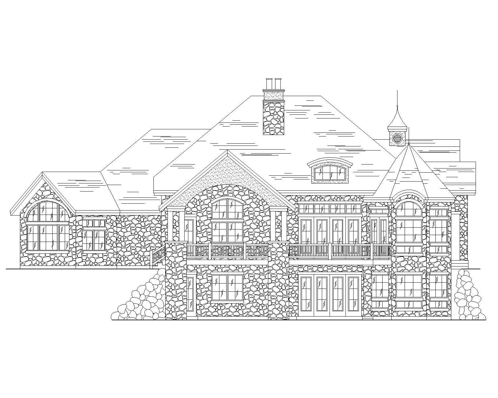 European House Plans Home Design Vh Ts3711