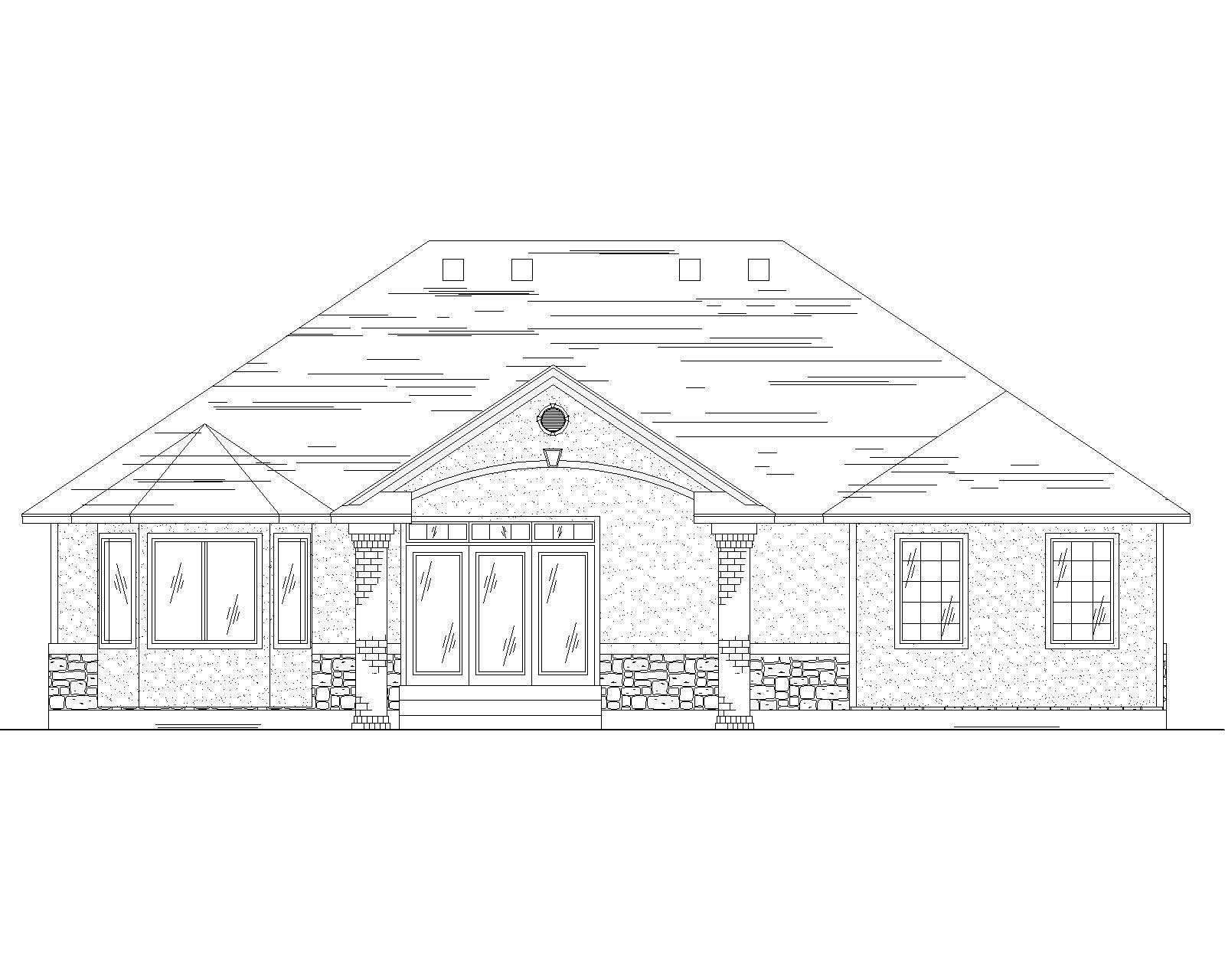 Traditional House Plans Home Design Vh R1710