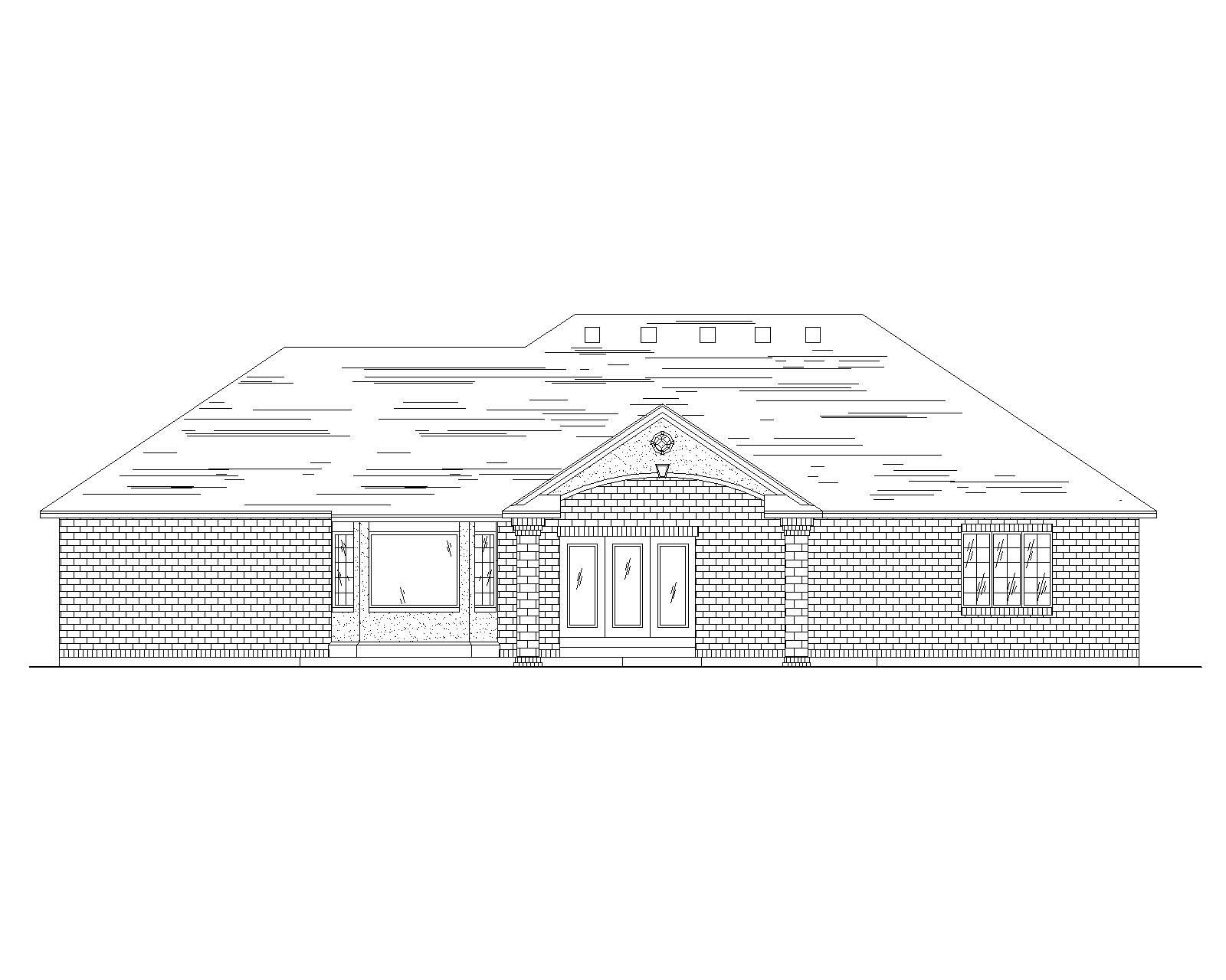Traditional House Plans Home Design Vh R1777
