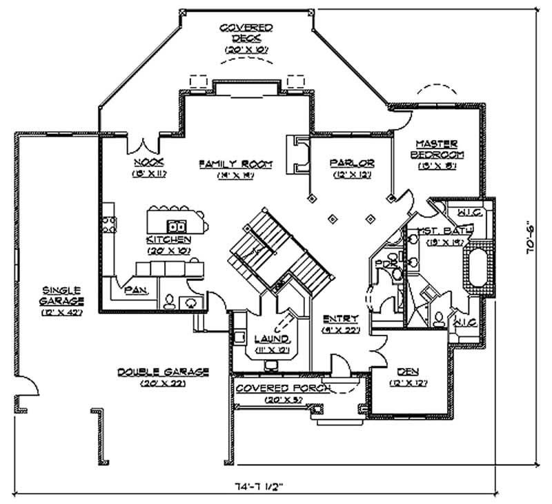Traditional European House Plans Home Design Vh Ts3721