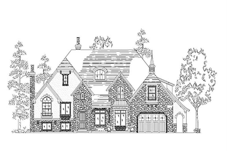 Main image for house plan # 11152