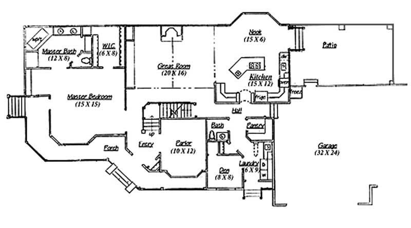 Traditional European House Plans Home Design Vh Ts2527