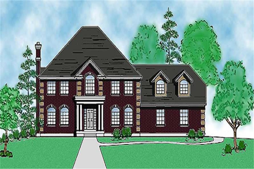 Main image for house plan # 11173