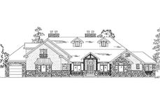 Main image for house plan # 11029