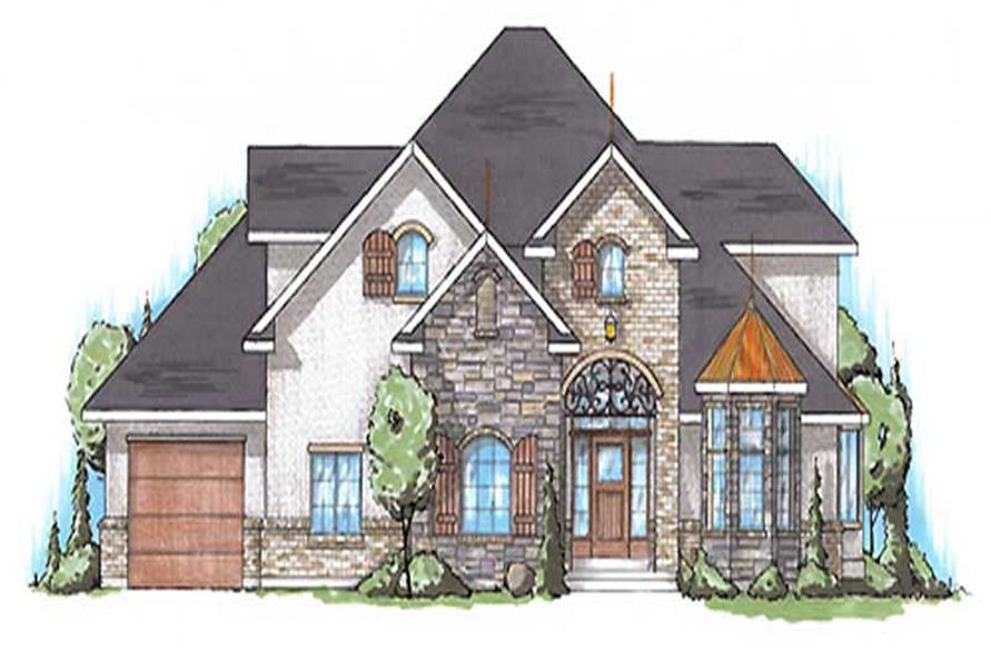 Main image for house plan # 11172