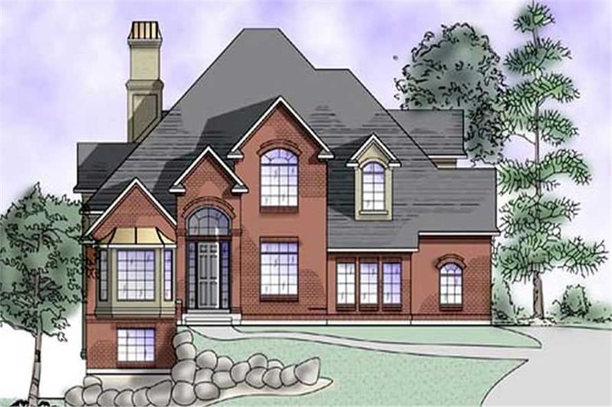 Main image for house plan # 11160