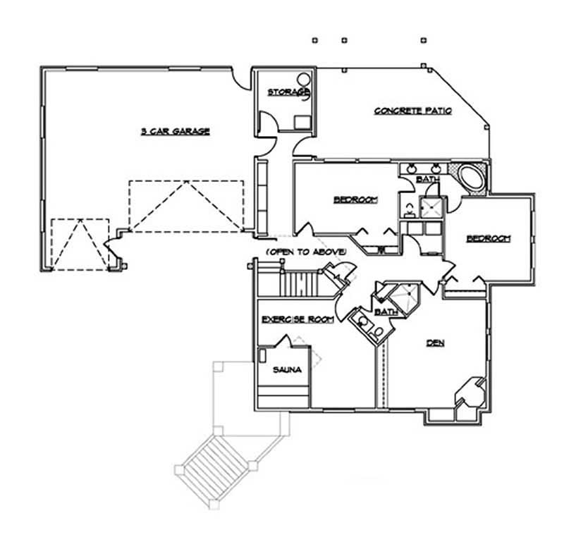 Luxury European House Plans Home Design Vh Ts4236 11057