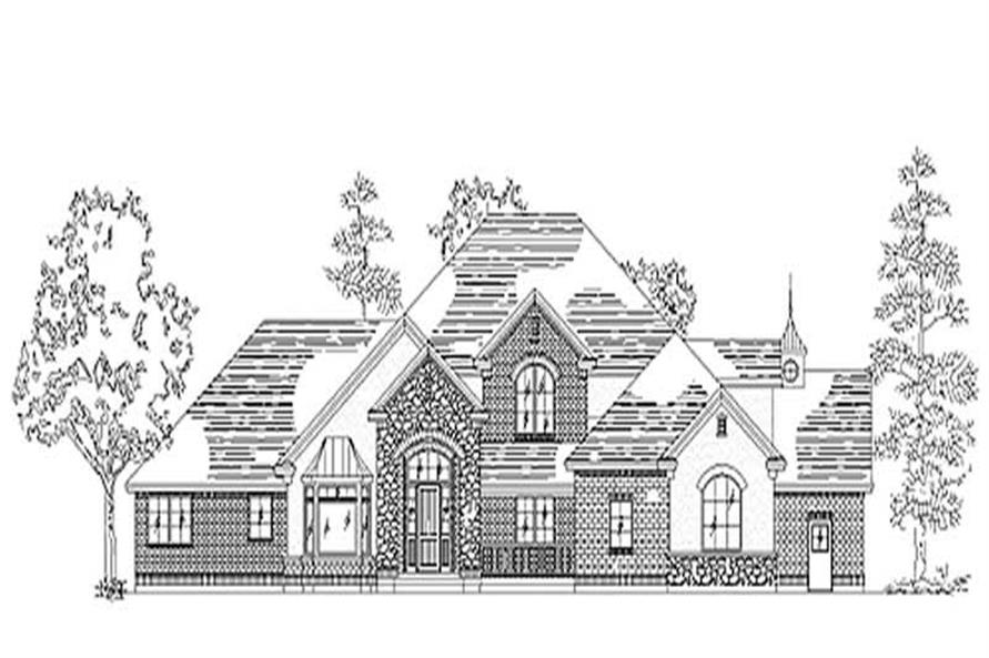 Main image for house plan # 11067