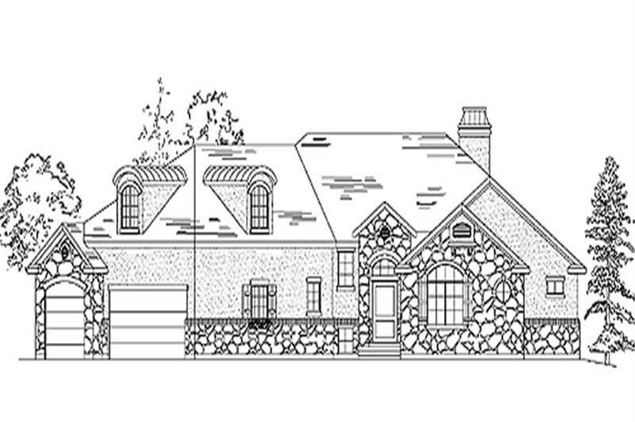 Main image for house plan # 11137