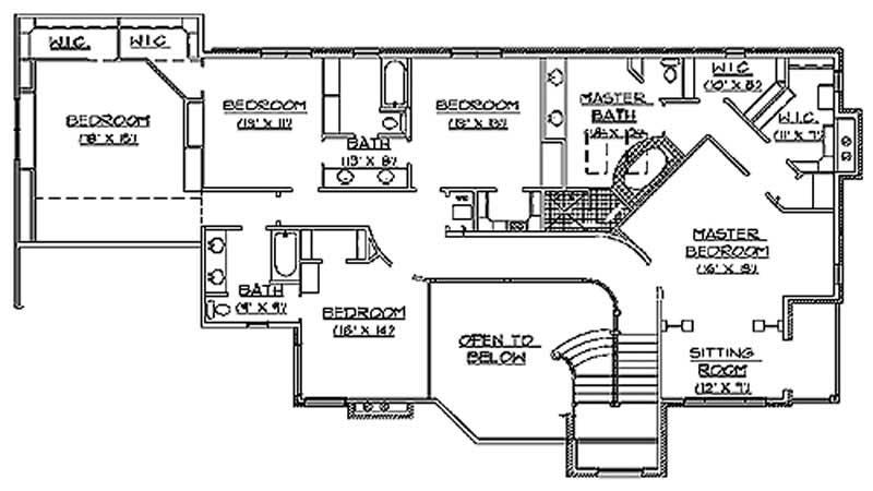 Luxury European House Plans Home Design Vh Ts4775a 11080