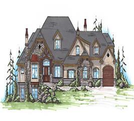 House Plan #135-1198