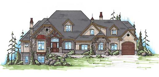 Main image for house plan # 11083