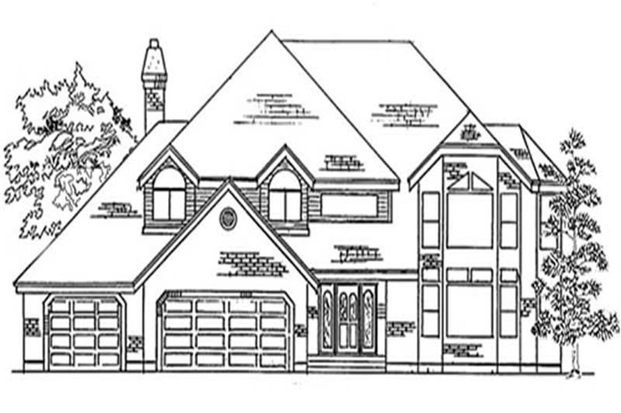 Main image for house plan # 11178