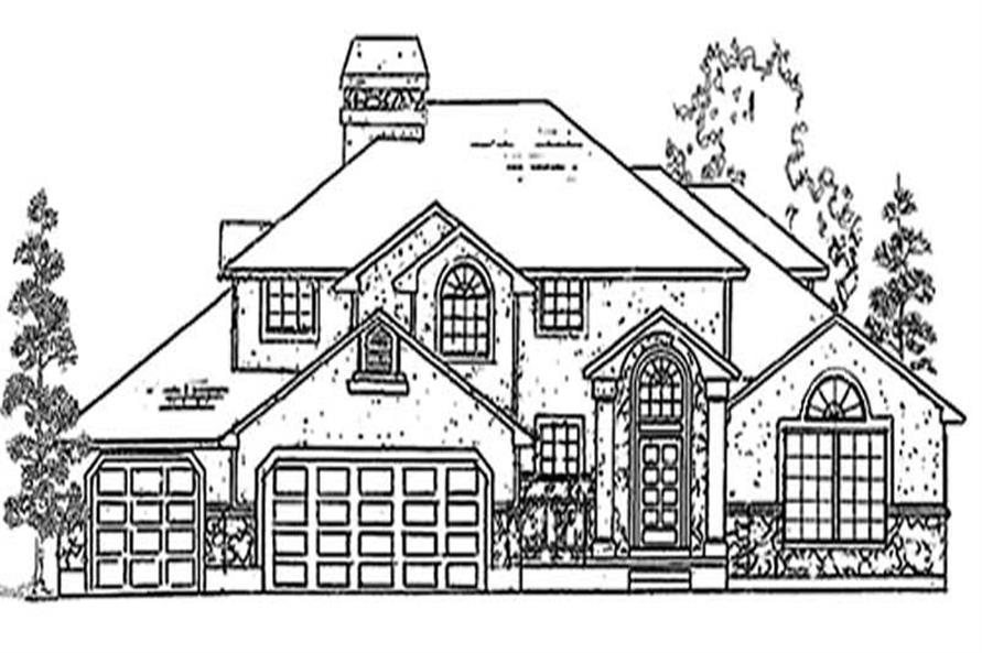 Main image for house plan # 11106