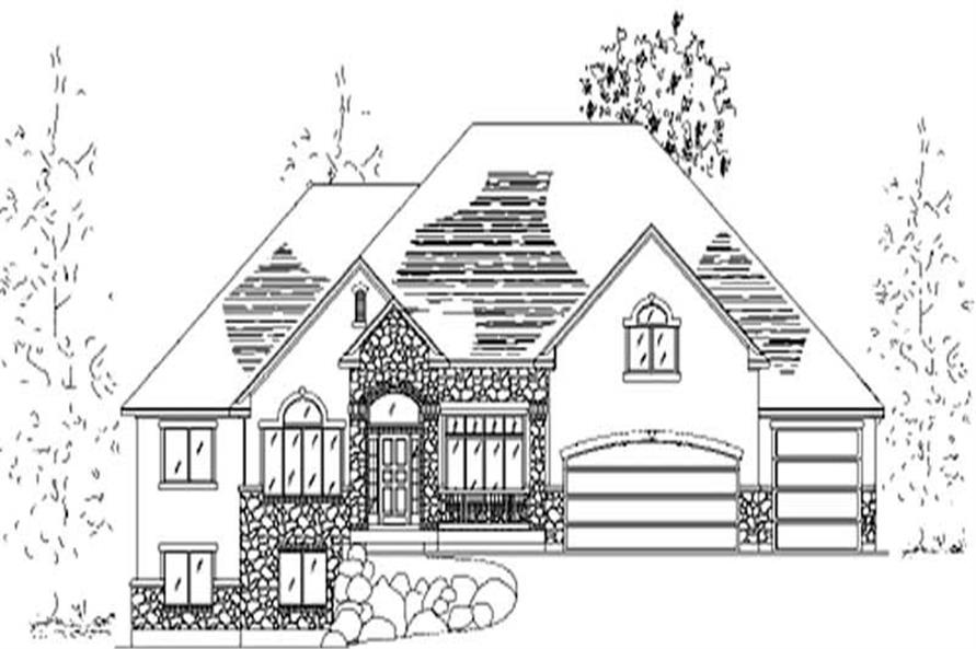 Main image for house plan # 11107