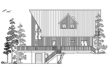 3-Bedroom, 2109 Sq Ft Cape Cod House Plan - 135-1211 - Front Exterior