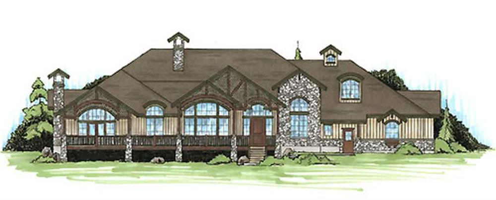 Main image for house plan # 11153