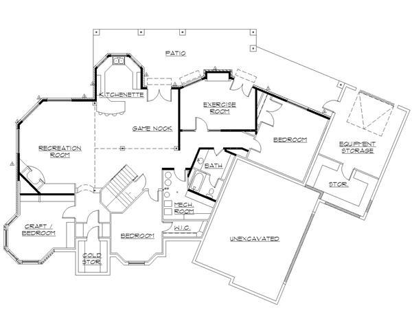 135-1216: Floor Plan Basement