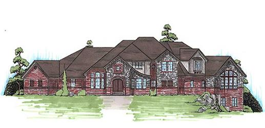 Main image for house plan # 11094