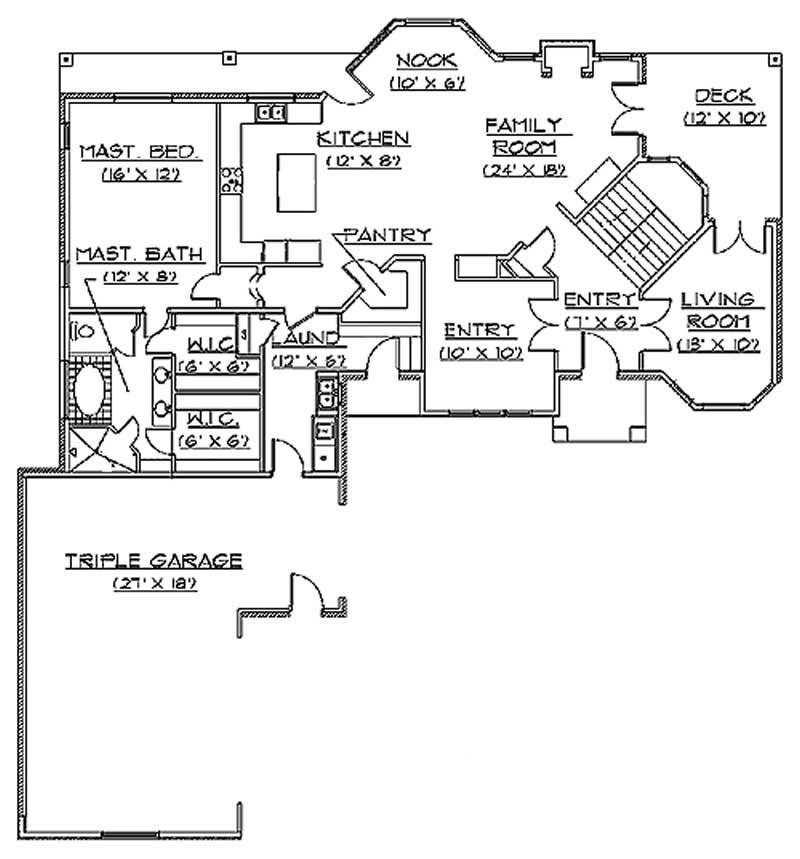 Traditional European House Plans Home Design Vh Ts3641