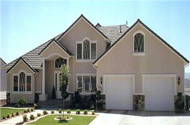 5-Bedroom, 2775 Sq Ft European Home Plan - 135-1229 - Main Exterior