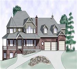 House Plan #135-1233