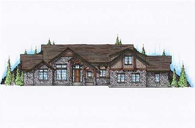 Main image for house plan # 11118